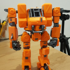 Picture of print of Heavy Construction Walker (Action Figure)