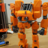 Heavy Construction Walker (Action Figure) print image