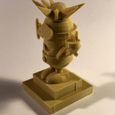 Picture of print of Minion Statue