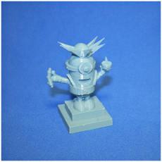 Picture of print of Minion Statue