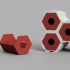 Hexagon Interlocking Storage Draws image