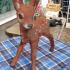 Bambi deer Reh  Scann image