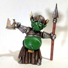 Gnorm, the Drunk Goblin Warrior #Tinkercharacters