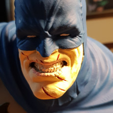 Picture of print of The Dark Knight bust Esta impresión fue cargada por Guilherme Gonçalves Dos Reis