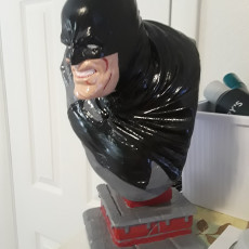 Picture of print of The Dark Knight bust Esta impresión fue cargada por GA benefiel