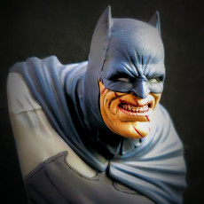 Picture of print of The Dark Knight bust