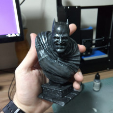 Picture of print of The Dark Knight bust Esta impresión fue cargada por Marcelo Chaves do Carmo