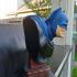 The Dark Knight bust print image