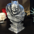 The Dark Knight bust print image