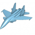 SU-33 Fighter Jet Airplane image