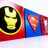 Avengers and Superhero emblems - Critter Hitters image