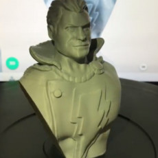 Picture of print of Shazam bust