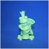 frog queen print image