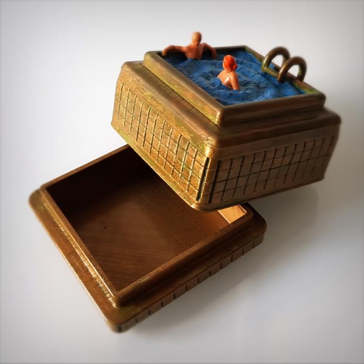 Steampunk swimming box.