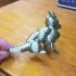 Sapphire Dragon Statue print image