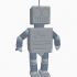 Elijah-the Robot #Tinkercharacters image