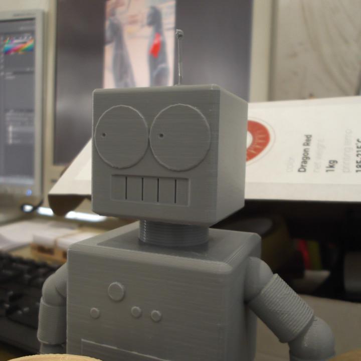 Elijah-the Robot #Tinkercharacters