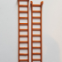 G scale (gauge) extension ladder. image
