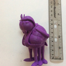 Picture of print of Boris, the Solitary Spider #TinkerCharacters