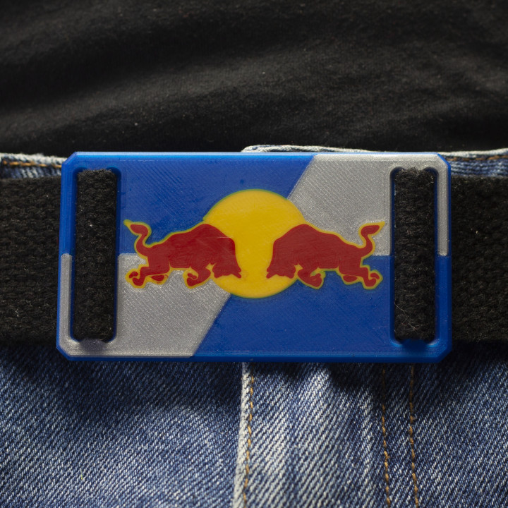 The Belt Buckle - Red Bull