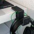 Headset Clamp for IKEA Malm Desk image