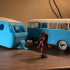 Lego friends VW caravan trailer image