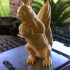 Squizzle! A Supports Free Squirrel Sculpt image