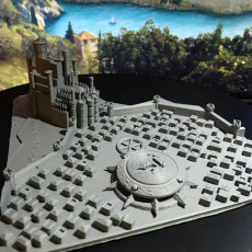 Picture of print of King's Landing - Game of Thrones (Multicolor) Cet objet imprimé a été téléchargé par Troy Slatton