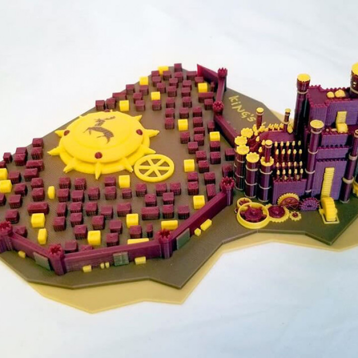 King's Landing - Game of Thrones (Multicolor)