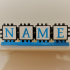 Triangular PolyPanel Stand For Nameplates image