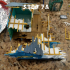 The Newport - Destroyed 28mm House Scenery image