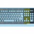 Cover/keyguard for Logitech K120 keyboard (Aid for Parkinson patients) image