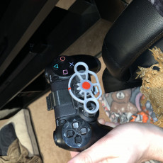 Picture of print of PlayStation 4 controller mini wheel