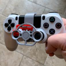 PlayStation 4 controller mini wheel