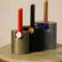 Percussion Block Complete Set of 4 Designs. Ram Block, Burst Block, Half Moon Block, Wail Block image
