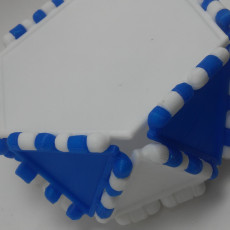 Picture of print of Polypanels Hexagon