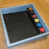 Castle Wall Dice Tray with removable Dice Rack image