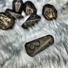 Picture of print of Facets Dice - Full set of custom RPG dice