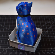 Picture of print of Schrodinky: British Shorthair Cat In A Box - 3D printable multipart model - multi material package
