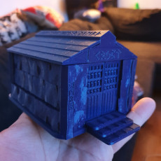 Picture of print of Fantasy Wargame Terrain - Runic Crypt