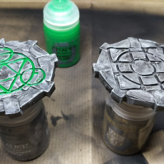 Picture of print of Fantasy Wargame Terrain - Teleport/Summoning Circles