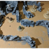 Fantasy Wargame Terrain - Ruined Wall Sections image