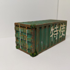 Picture of print of Gaslands - Shipping Containers