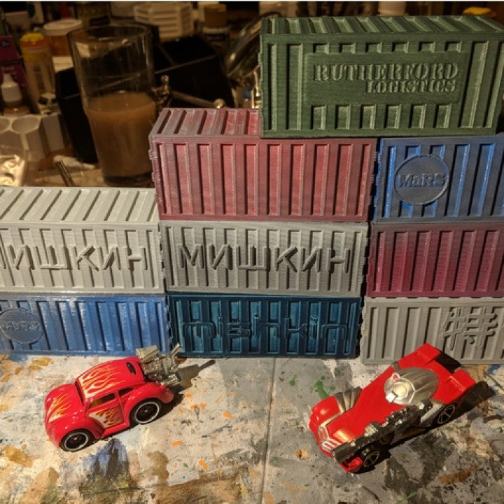 Gaslands - Shipping Containers