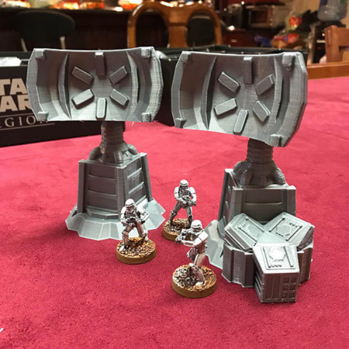 Star Wars Legion Terrain - Comm Tower