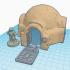 Star Wars Legion Terrain - Tatooine Hut image
