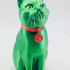 Schrodinky: British Shorthair Cat In A Box - 3D printable multipart model - single material package image