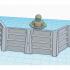 Star Wars Legion Terrain - Crates, Barrels and Barricades image