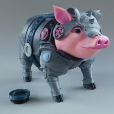 Sir Pigglesby (a most noble piggy bank)