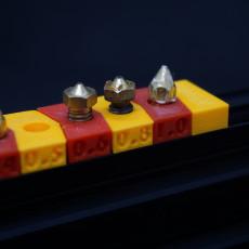 Modular nozzle holder (For 2020) (E3D/Creality compatible)